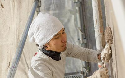 外壁・屋根塗装専門店だから選ばれる