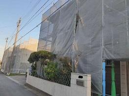 施工開始 豊田市外壁塗装・屋根塗装専門店ペイントスタジオ